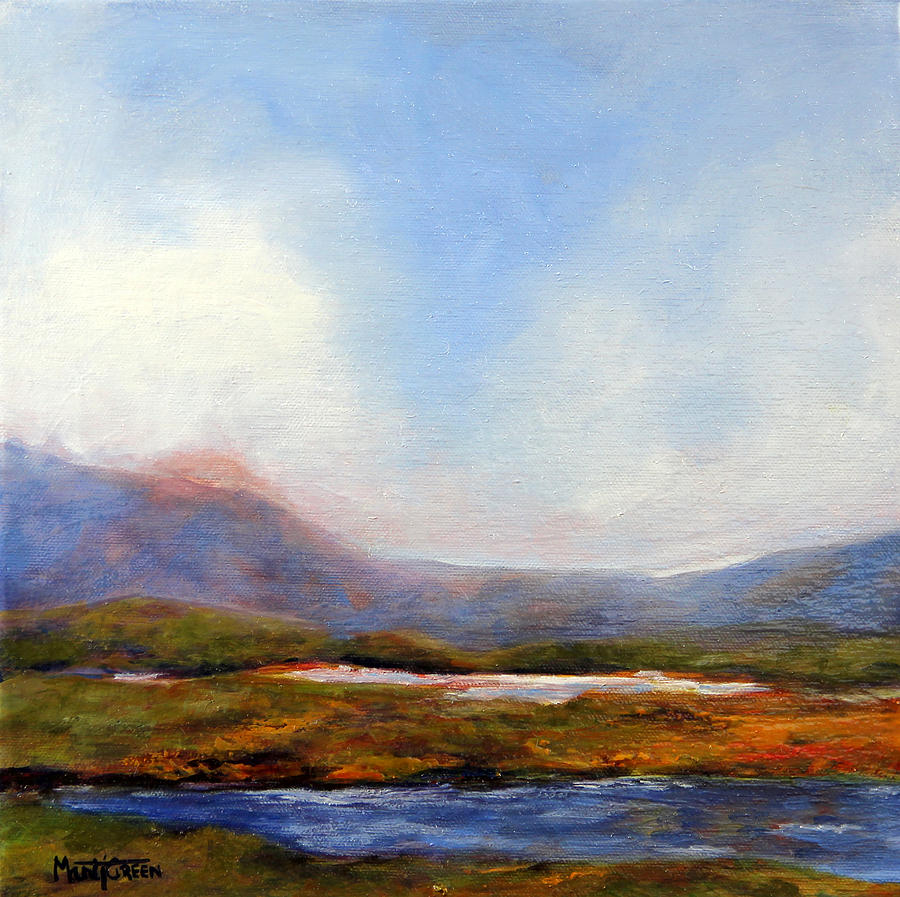 Ireland Painting - Colins Place by Marti Green