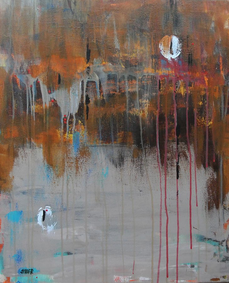 Collaboration Painting - Collaboration  by Kathy Stiber