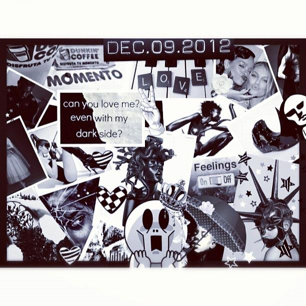 Collage Photograph - Collage Black and white by Dvon Medrano