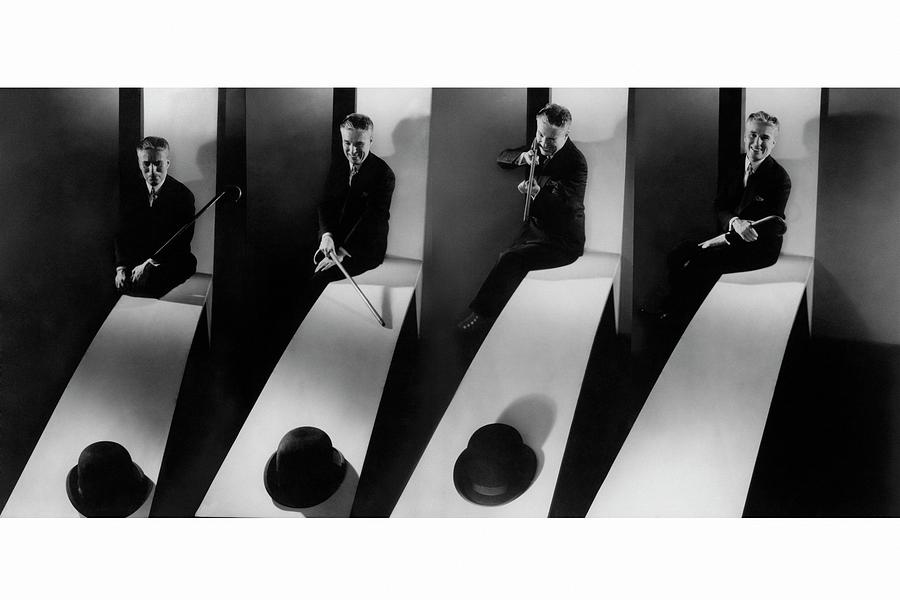 Collage Of Charlie Chaplin Photograph by Edward Steichen