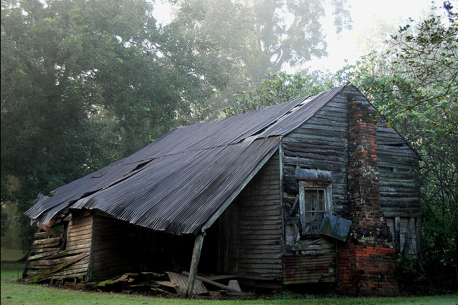 House Photograph - Collapsed by Larry Primeaux