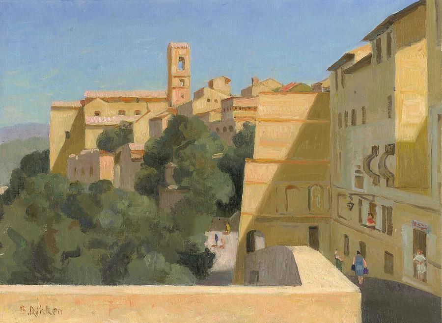 Tuscany Painting - Colle Val d Elsa by Ben Rikken