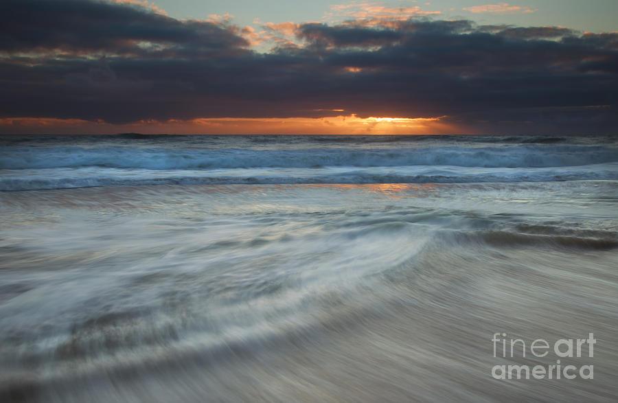 Seascape Photograph - Colliding Tides by Mike  Dawson