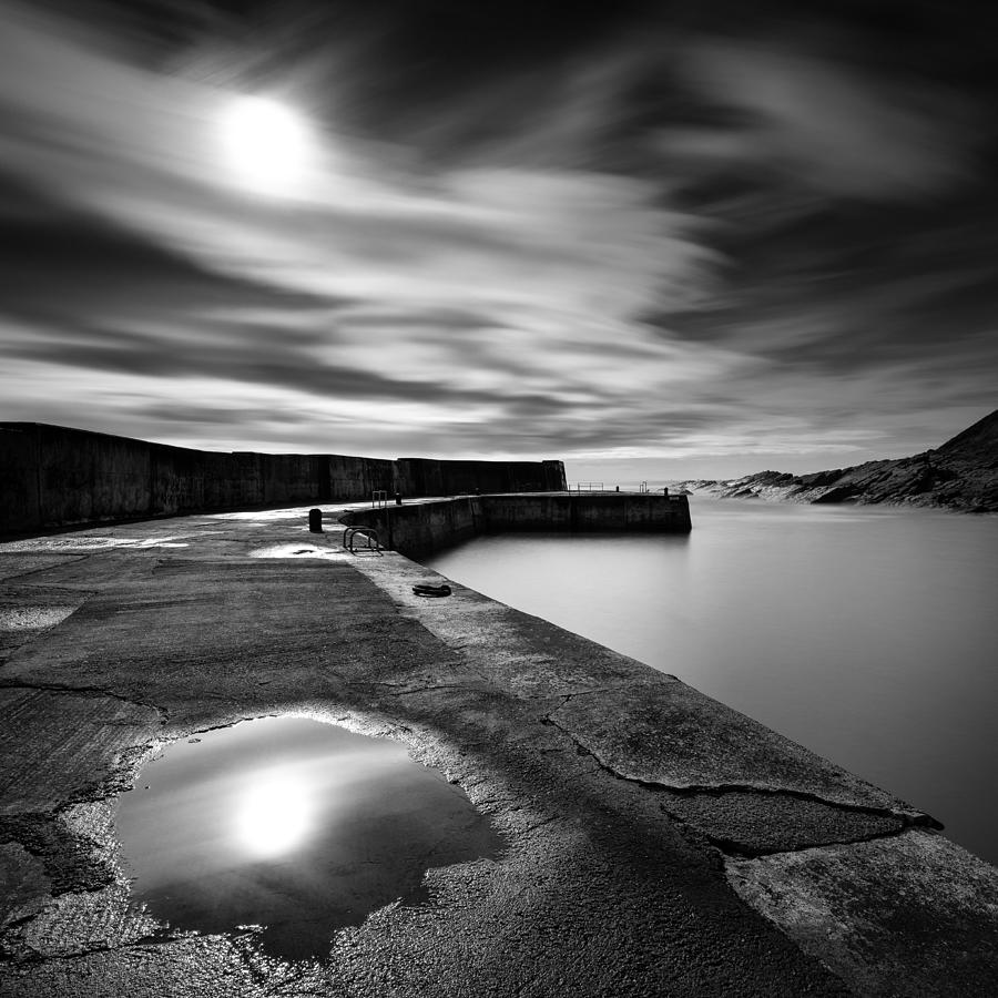 Breakwater Photograph - Collieston Breakwater by Dave Bowman