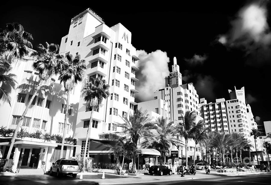 Collins Avenue Photograph - Collins Avenue by John Rizzuto