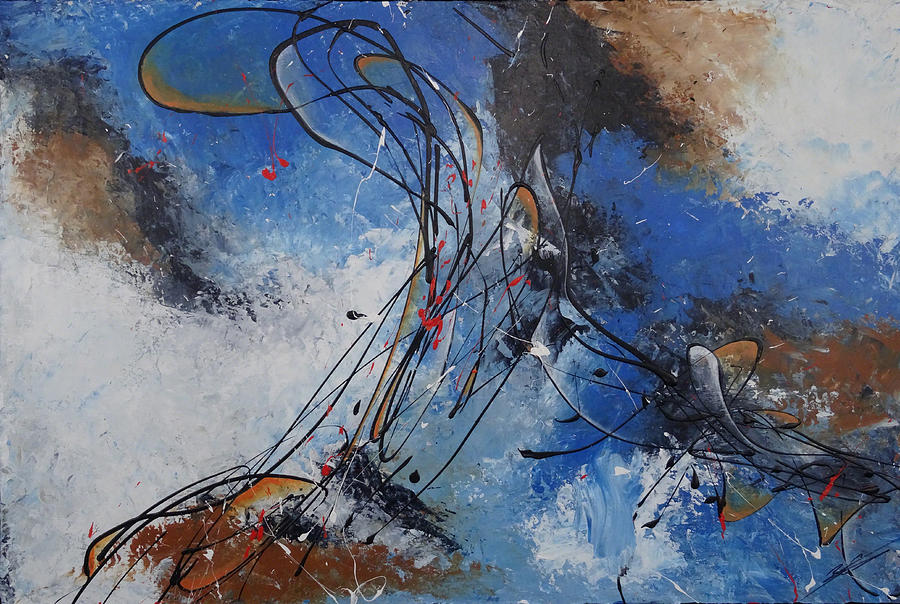 Art Painting - Collision by Bradley Carter