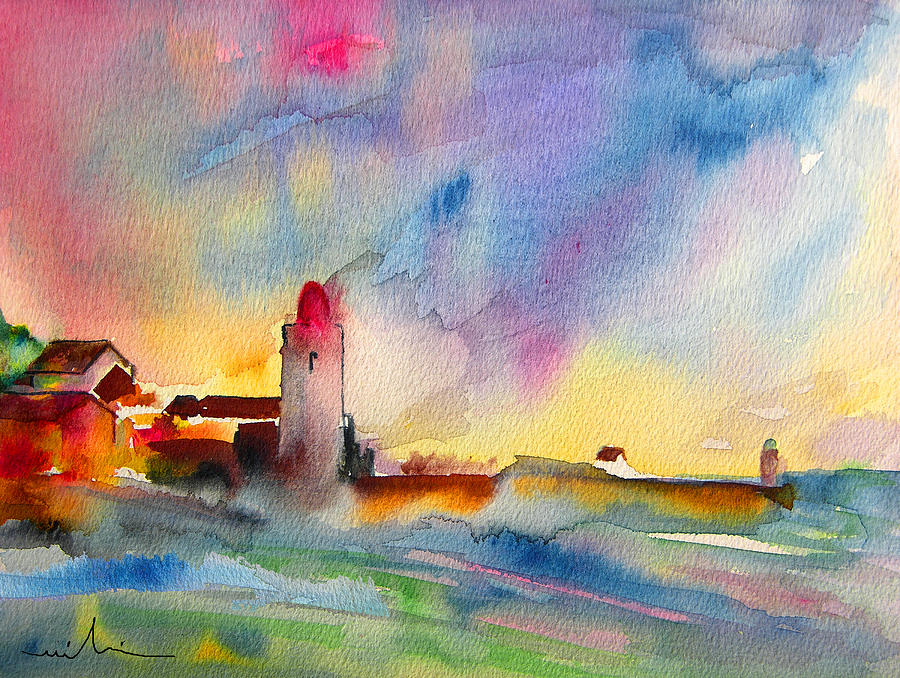 Collioure Impression 01 Painting