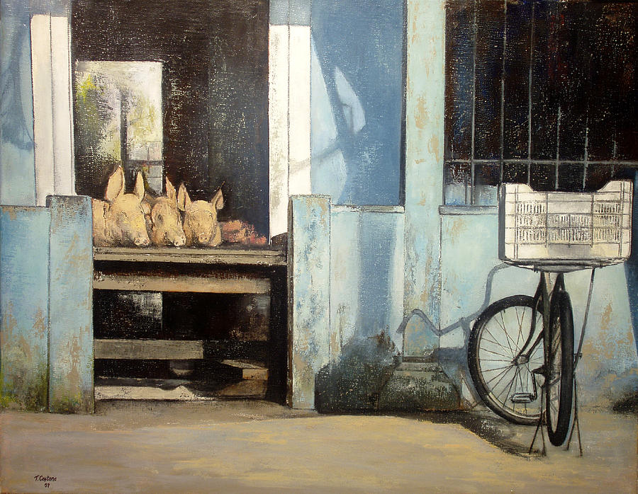 Colmado Painting - Colmado-Havana by Tomas Castano