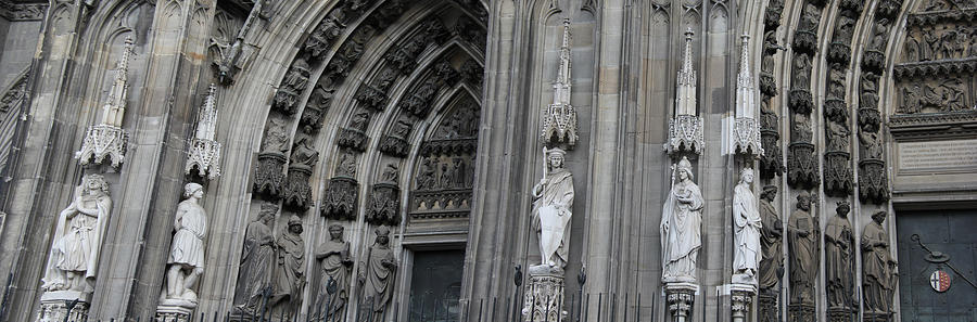 Cologne Cathedral South Side Detail 1 Photograph
