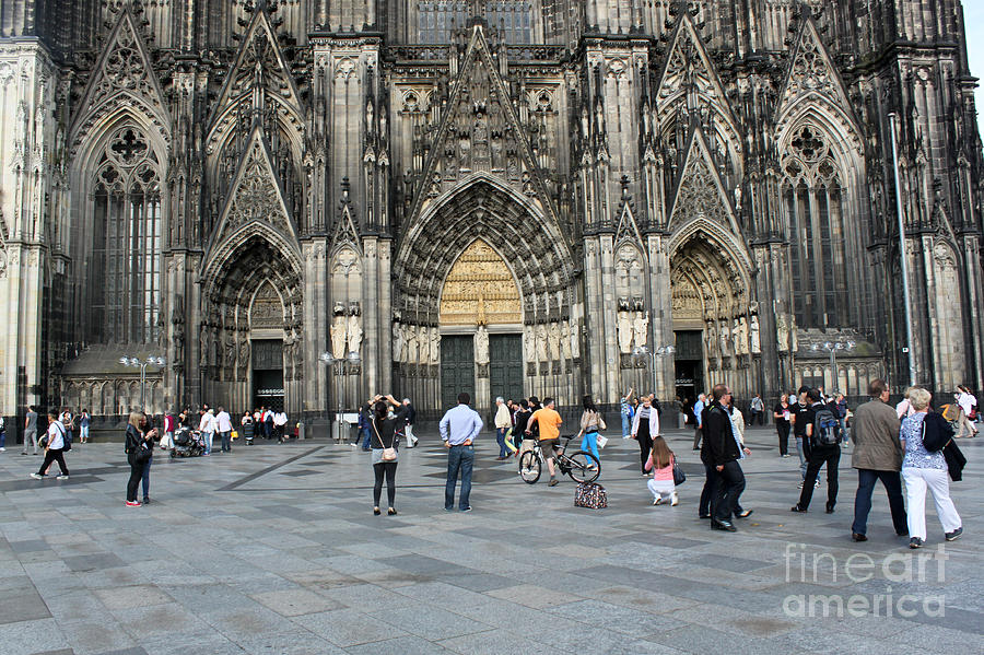 Cologne Gemany Photograph - Cologne Germany - High Cathedral Of St. Peter - 17 by Gregory Dyer