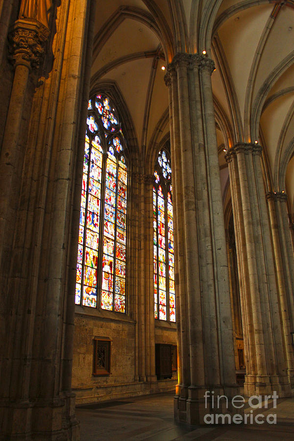 Cologne Germany Photograph - Cologne Germany - High Cathedral Of St. Peter - 02 by Gregory Dyer