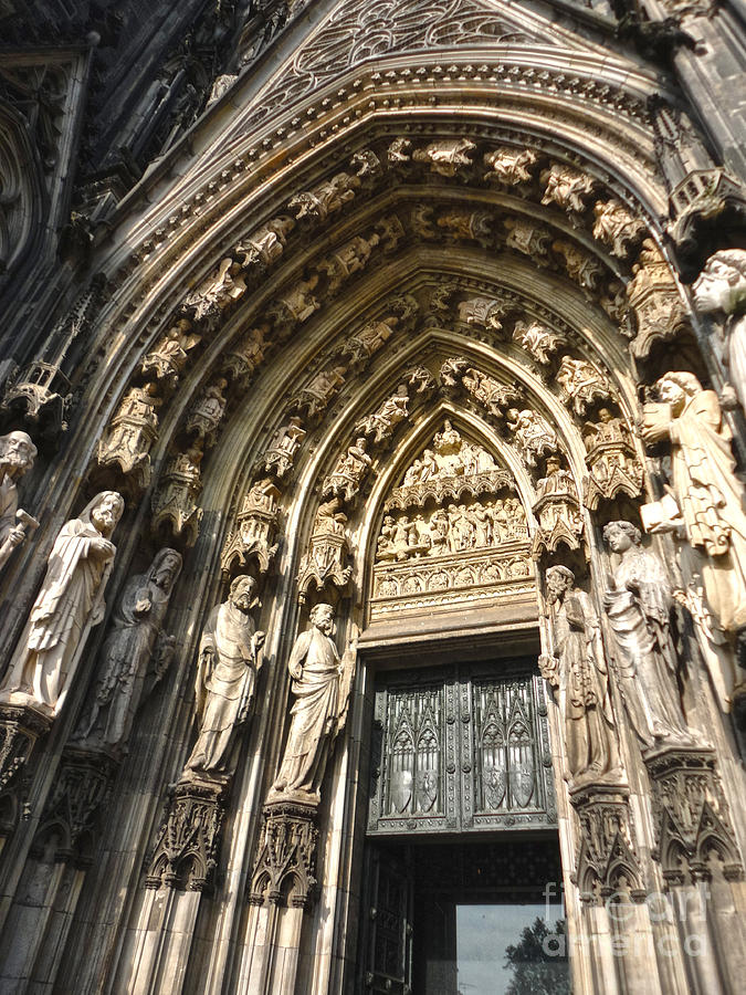 Cologne Germany Photograph - Cologne Germany - High Cathedral Of St. Peter - 05 by Gregory Dyer
