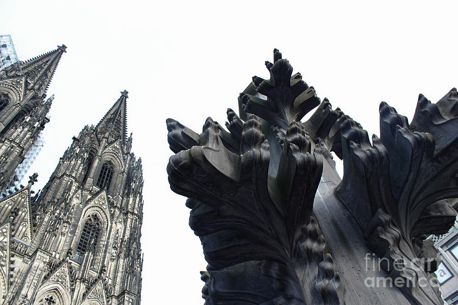 Koln Photograph - Cologne Germany - High Cathedral Of St. Peter - 09 by Gregory Dyer
