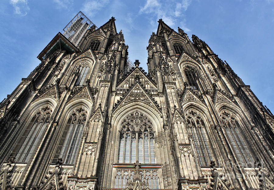 Cologne Germany Photograph - Cologne Germany - High Cathedral Of St. Peter - 16 by Gregory Dyer
