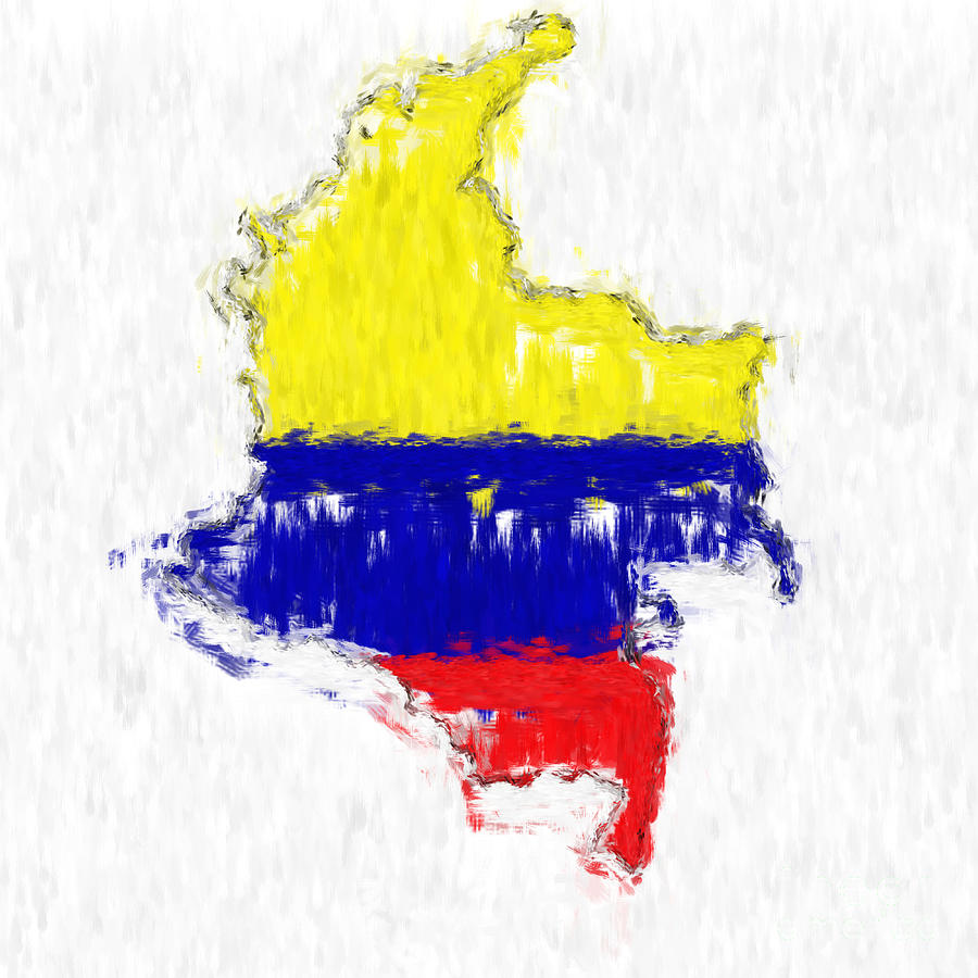 framed map art with Colombia Painted Flag Map Antony Mcaulay on Scotland Watercolor Map Michael Tompsett likewise 7107813 Hope Cove Devon England in addition Charlotte Skyline Molly Wright moreover 8232714 China Flag And Map together with 233261 La Mirada Del Amor.