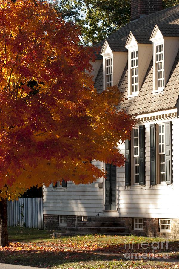 2013 Photograph - Colonial Color by Lauren Brice