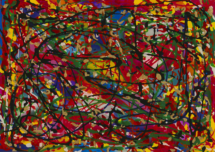 Color 1 Painting by Patrick OLeary