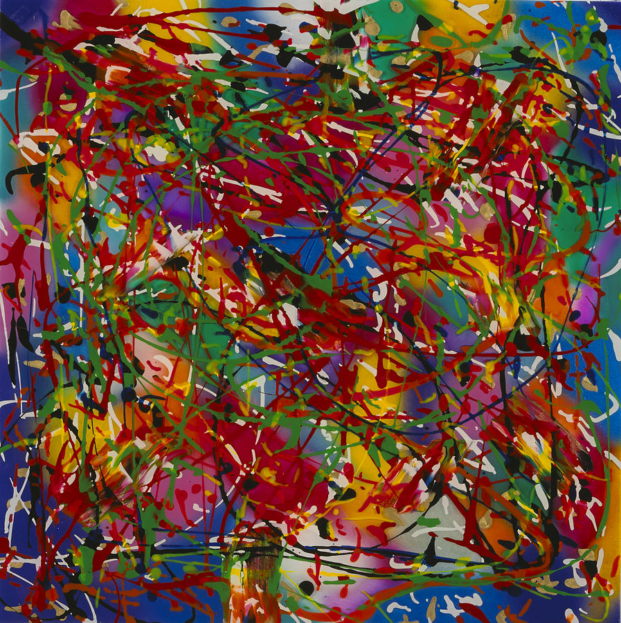 Abstract Painting - Color 2 by Patrick OLeary