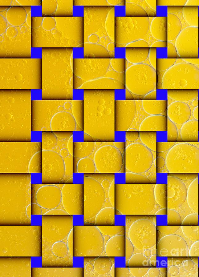 Color Abstraction Of Oil Droplets Digital Art
