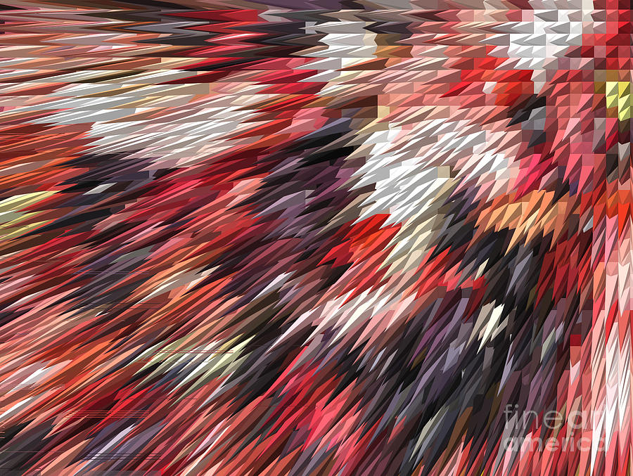 Digital Photograph - Color Explosion #02 by Ausra Huntington nee Paulauskaite