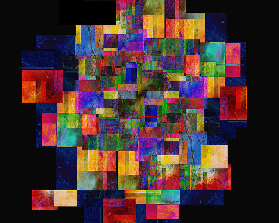 Abstract Digital Art - Color Fantasy - Abstract - Art by Ann Powell