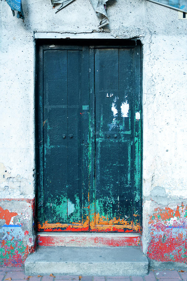Color Full Door Latin American Photograph by Byronortiza