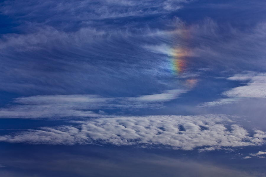 Sky Photograph - Color In The Sky by Janice Carter