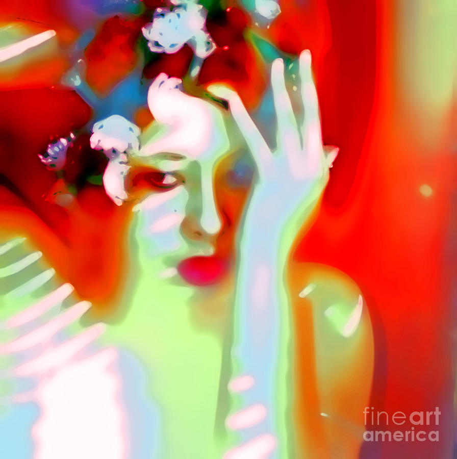 Red Photograph - Color Me Blue by Jessica Shelton