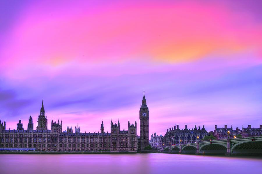 London Photograph - Color My World by Midori Chan