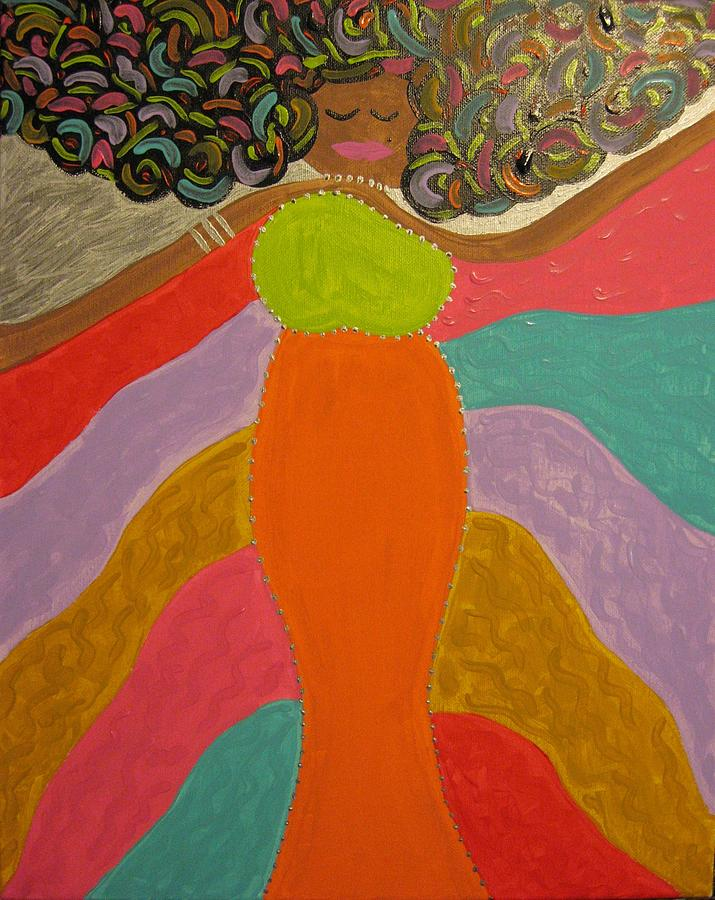 Acrylic Painting - Color Of Dance by Clarissa Burton