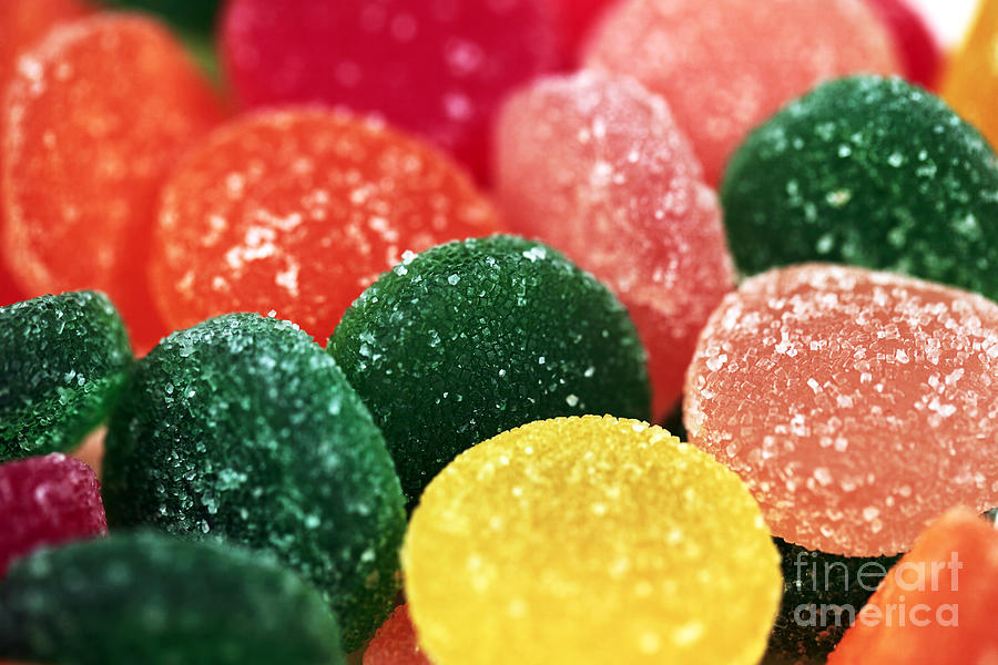 Fruit Candy Photograph - Color Of Flavor by John Rizzuto