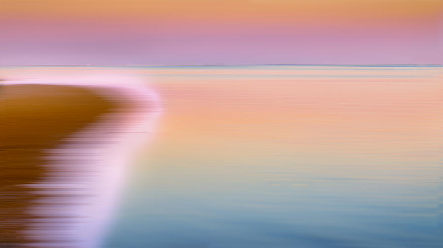 Abstract Photograph - Color Of Morning by Bill Wakeley