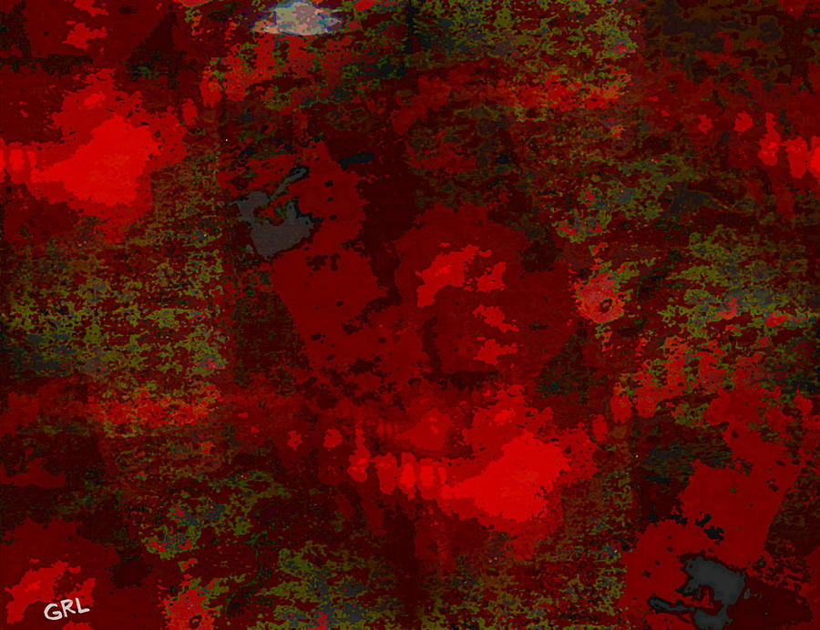Color Painting - COLOR OF RED dscn0038 CONTEMPORARY DIGITAL ART by G Linsenmayer