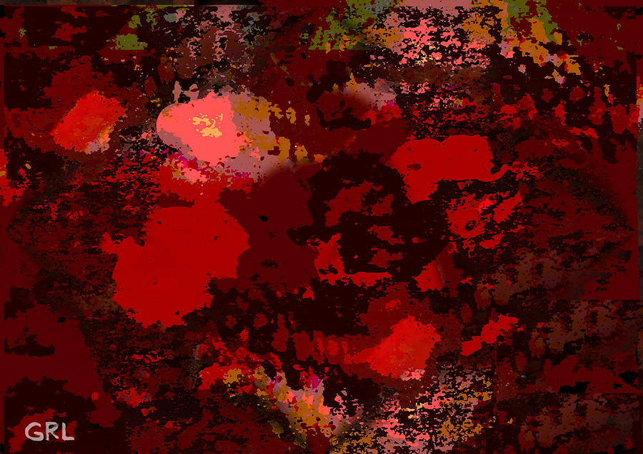 Color Painting - COLOR OF RED II dscn0038 CONTEMPORARY DIGITAL ART by G Linsenmayer