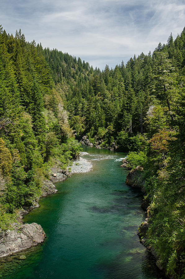Redwoods Photograph - Color Of The Smith River by Greg Nyquist