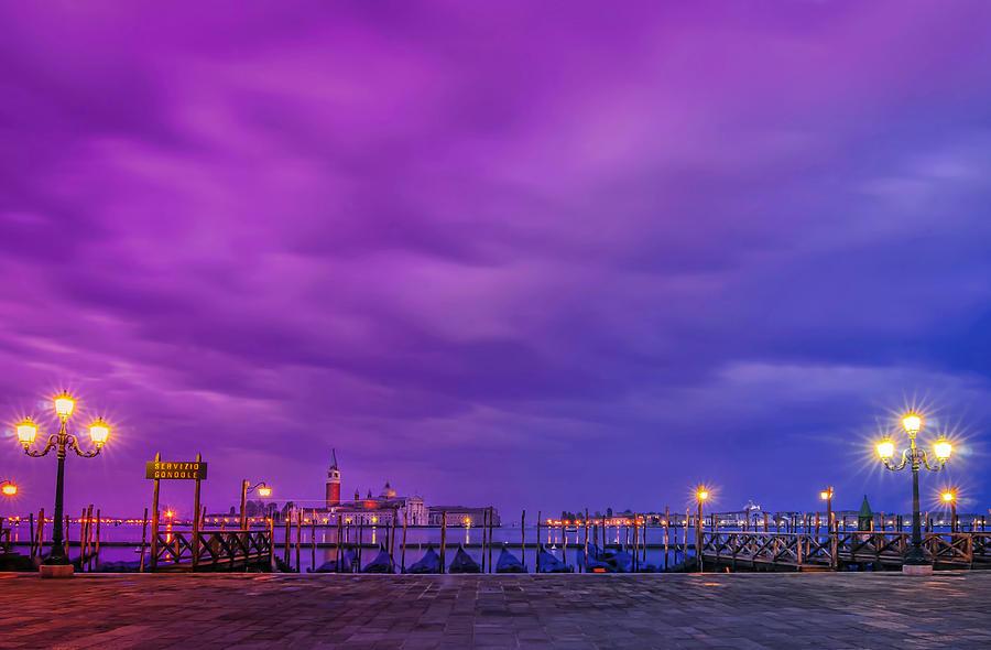 Venice Photograph - Color Play by Midori Chan