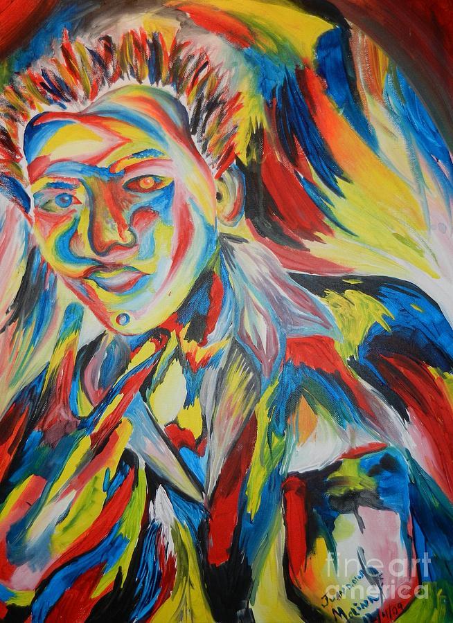 Portrait Painting - Color Portrait by Juan Molina