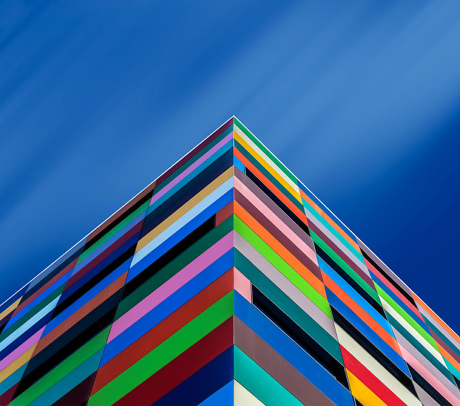 Colors Photograph - Color Pyramid by Alfonso Novillo