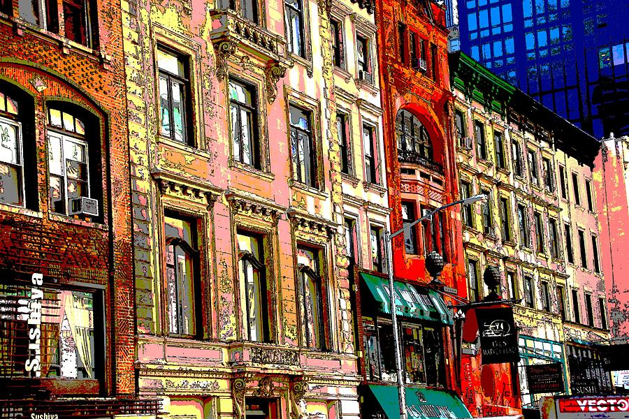 New York Photograph - Color The City New York by Thomas Fouch