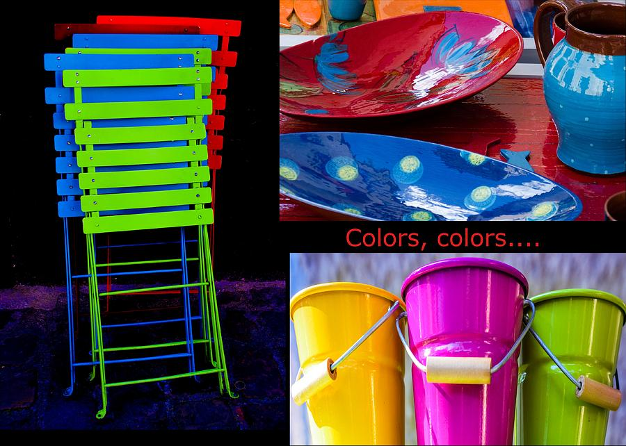 Colors Photograph - Color Your Life 1 by Dany Lison