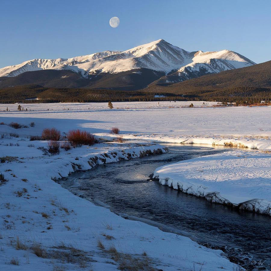 Colorado Photograph - Colorado 14er Mt. Elbert by Aaron Spong