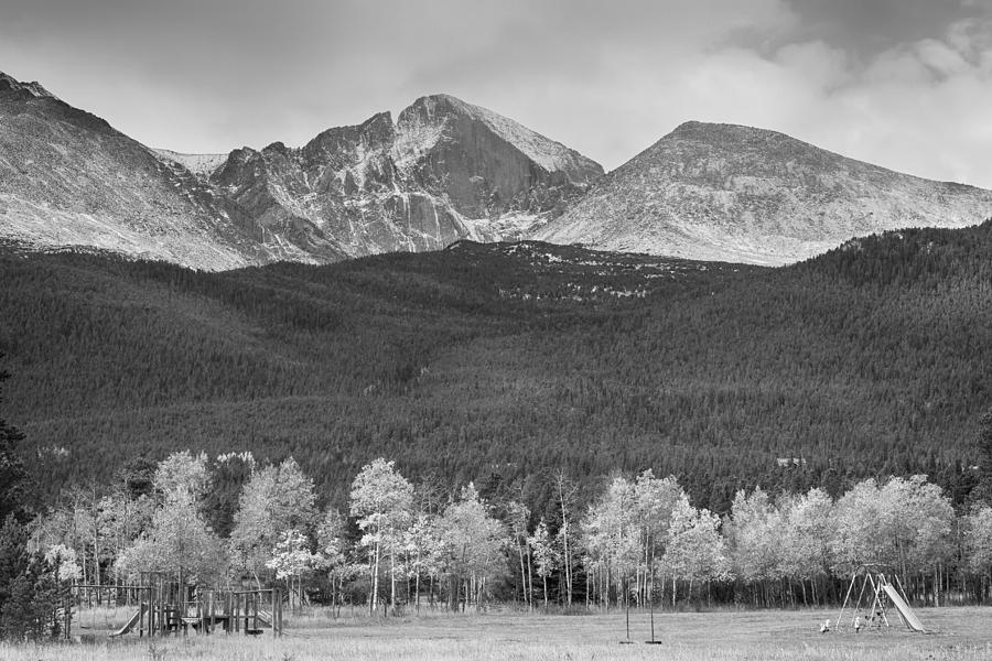 Colorado Photograph - Colorado Americas Playground In Black And White by James BO Insogna
