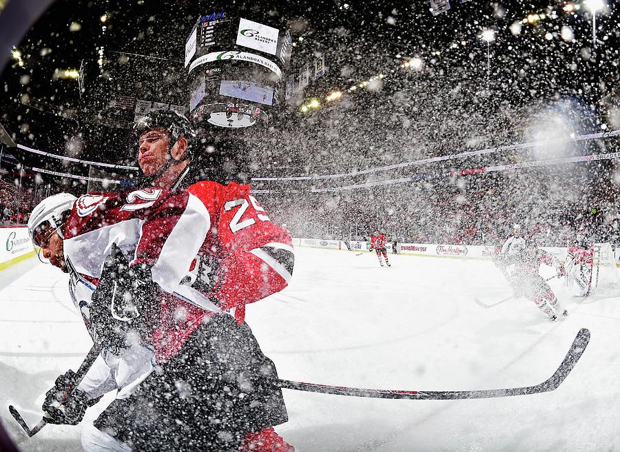 Colorado Avalanche V New Jersey Devils Photograph by Al Bello