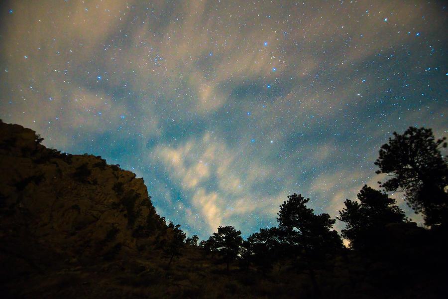 Sky Photograph - Colorado Canyon Star Gazing  by James BO Insogna