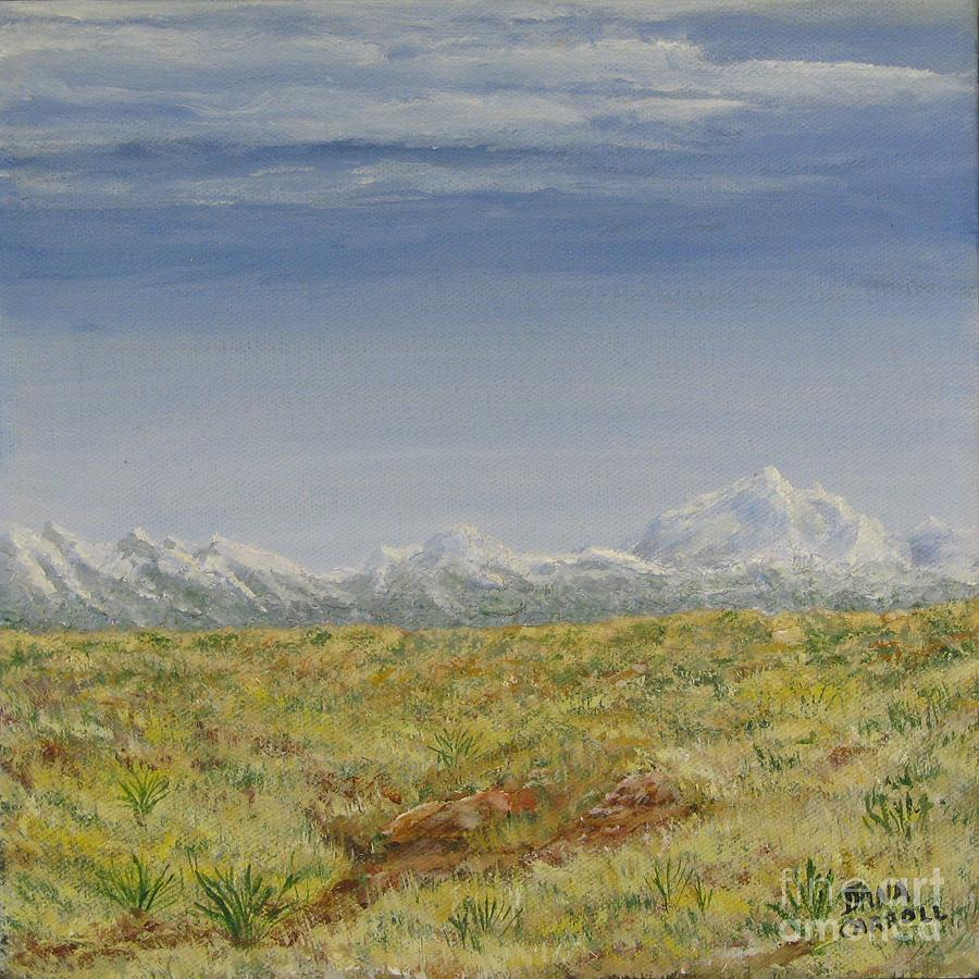 Colorado Painting - Colorado Eastern Plains by Dana Carroll