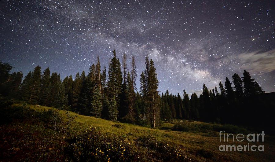 Milky Way Photograph - Colorado Milky Way by Brian Spencer