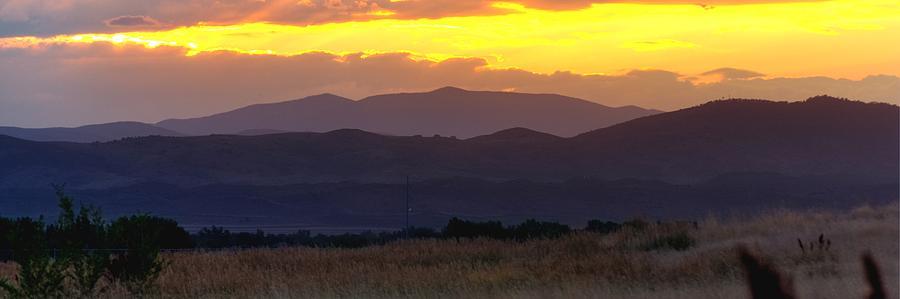 Colorado Monsoon Sunset 16212 Photograph