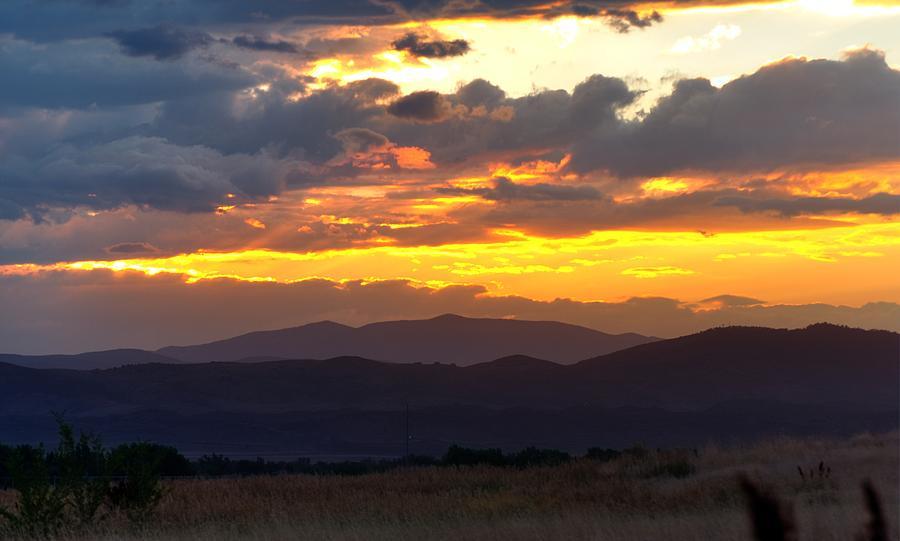 Colorado Monsoon Sunset 16213 Photograph