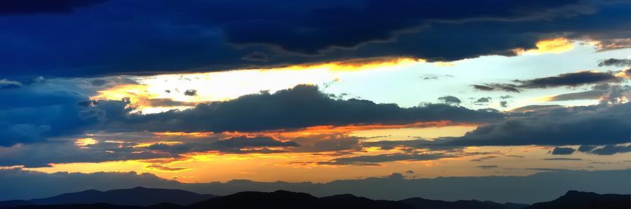 Colorado Monsoon Sunset 16242 Photograph