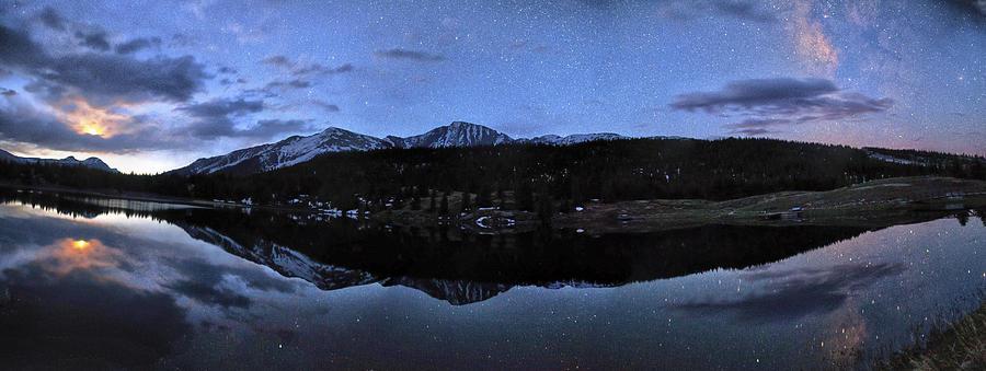 Alpine Photograph - Colorado Moon To Milk by Mike Berenson